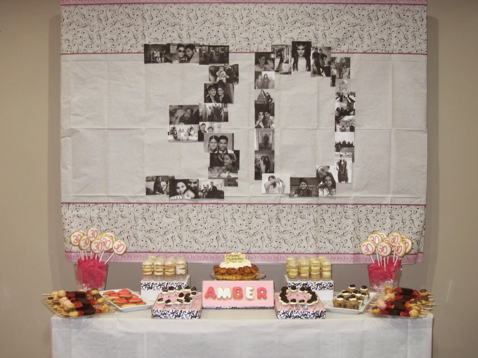 b29c0add6 30th Birthday Dessert Display - A Day In The Lalz